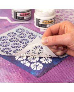 Fresh Masking Stencil - Color Study - American Crafts