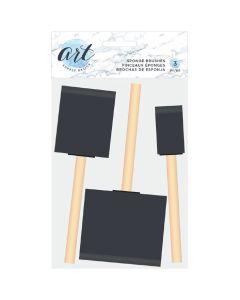 "Sponge Brush, 1"" to 3"" - Art Supply Basics - American Crafts"