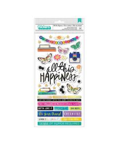 All This Happiness Thickers - Color Study - American Crafts