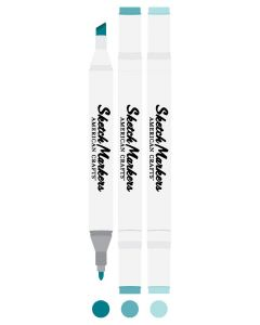 Peacock Sketch Markers - American Crafts