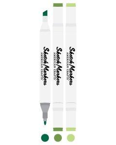 Shamrock Sketch Markers - American Crafts