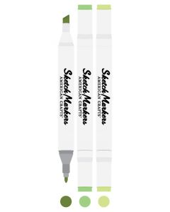 Frosted Sage Sketch Markers - American Crafts