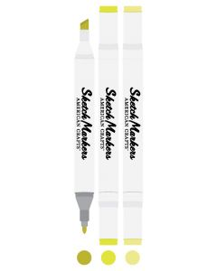 Key Lime Sketch Markers - American Crafts