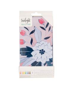 Twilight Watercolor Pencil Tin - Journal Studio - American Crafts