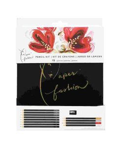 Pencil Kit - Paper Fashion - Katie Rodgers - American Crafts