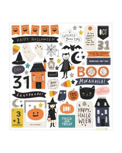 Hey, Pumpkin Chipboard Stickers - Maggie Holmes - Crate Paper