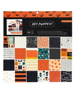 "Hey, Pumpkin 12"" x 12"" Cardstock Stack - Maggie Holmes - Crate Paper"