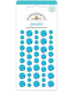 Swimming Pool Jewels - Winter Wonderland - Doodlebug Design