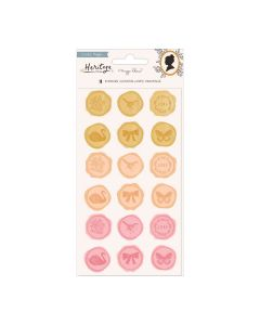 Heritage Puffy Stickers - Maggie Holmes - Crate Paper
