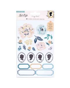 Heritage Clear Sticker Book - Maggie Holmes - Crate Paper