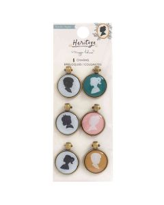 Portrait Charms - Heritage - Maggie Holmes - Crate Paper