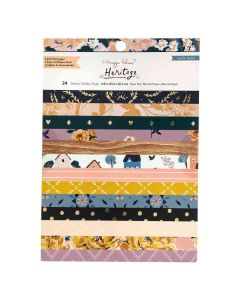 """Heritage 6"""" x 8"""" Cardstock Stack - Maggie Holmes - Crate Paper"""