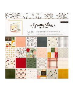 """Snowflake 12"""" x 12"""" Paper Pad - Crate Paper"""