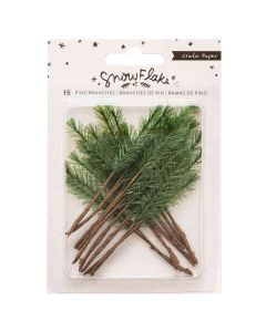 Snowflake Pine Branches - Crate Paper