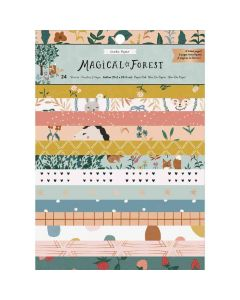 "Magical Forest 6"" x 8"" Paper Pad - Crate Paper*"