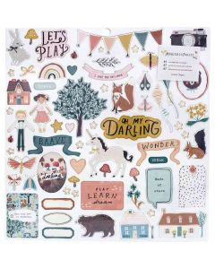 Magical Forest Chipboard Stickers - Crate Paper*