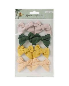 Magical Forest Fabric Bows - Crate Paper*