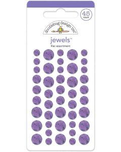 Lilac Jewels - Winter Wonderland - Doodlebug Design *