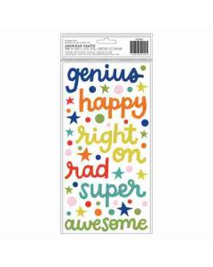 Genius Puffy Thickers - Field Trip - Shimelle - American Crafts