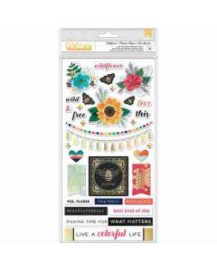 Wildflower Thickers - Wildflower & Honey - Vicki Boutin - American Crafts