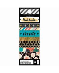 Wildflower & Honey Washi Tape Set - Vicki Boutin - American Crafts