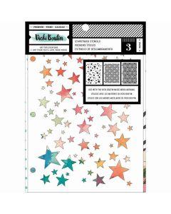 StarStruck Stencil Pack - Let's Wander - Vicki Boutin - American Crafts*