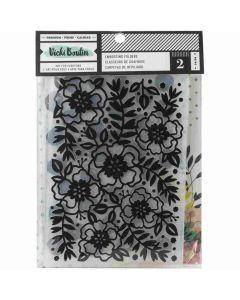 Let's Wander Embossing Folders - Vicki Boutin - American Crafts*