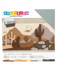 """Neutral Textured Precision Cardstock 12"""" x 12"""" - American Crafts"""