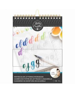 Script Letters Watercolor Workbook - Kelly Creates*