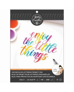 Blank Watercolor Paper Pad - Kelly Creates*