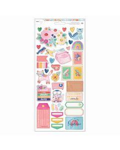 """She's Magic 6"""" x 12"""" - Sticker Sheet - Dear Lizzy"""