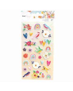 She's Magic Puffy Stickers - Dear Lizzy