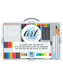 Classic Art Kit - Art Supply Basics - American Crafts