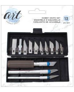Hobby Knife Set - Art Supply Basics - American Crafts