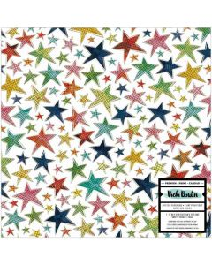"""Let's Wander 12"""" x 12"""" Specialty Paper - Vicki Boutin - American Crafts*"""