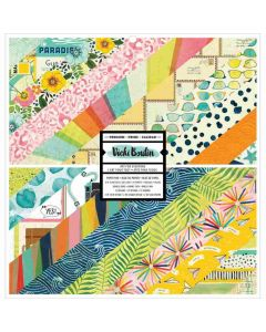 """Let's Wander 12"""" x 12"""" Paper Pad - Vicki Boutin - American Crafts*"""