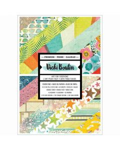 """Let's Wander 6"""" x 8"""" Paper Pad - Vicki Boutin - American Crafts*"""
