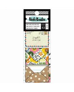 Let's Wander Mini Envelopes with Cards - Vicki Boutin - American Crafts*