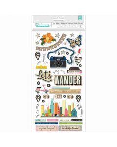 Let's Wander Thickers - Vicki Boutin - American Crafts*