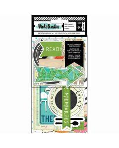 Let's Wander Ephemera Cardstock - Vicki Boutin - American Crafts*