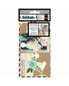 Let's Wander Tags & Journaling Pieces - Vicki Boutin - American Crafts*