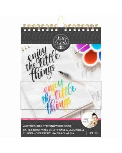 Words Watercolor Workbook - Kelly Creates*