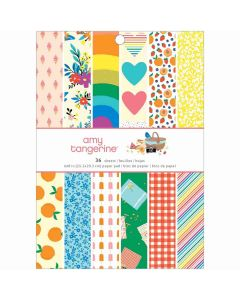 """Picnic in the Park 6"""" x 8"""" Paper Pad - American Crafts*"""