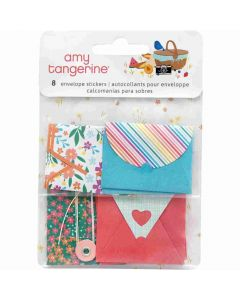 Picnic in the Park Envelope Stickers - Amy Tangerine - American Crafts*