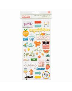 Happy Hooray Thickers - Picnic in the Park - Amy Tangerine - American Crafts*