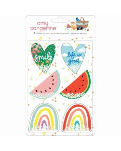 Picnic in the Park Shaker Stickers - Amy Tangerine - American Crafts*