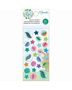 Never Grow Up Epoxy Stickers - Shimelle*