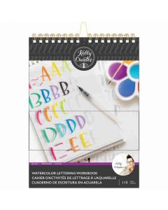 Block Letters Watercolor Workbook - Kelly Creates*