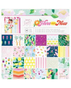 """Here and Now 12"""" x 12"""" Specialty Paper Pad - Dear Lizzy*"""