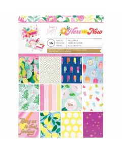 """Here and Now 6"""" x 8"""" Paper Pad - Dear Lizzy*"""